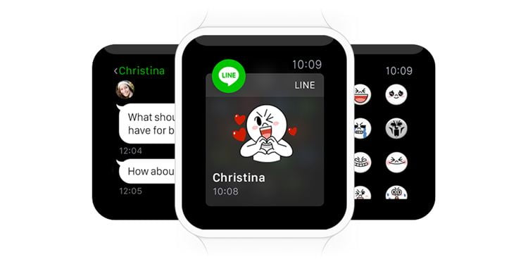 LINE-Apple-Watch
